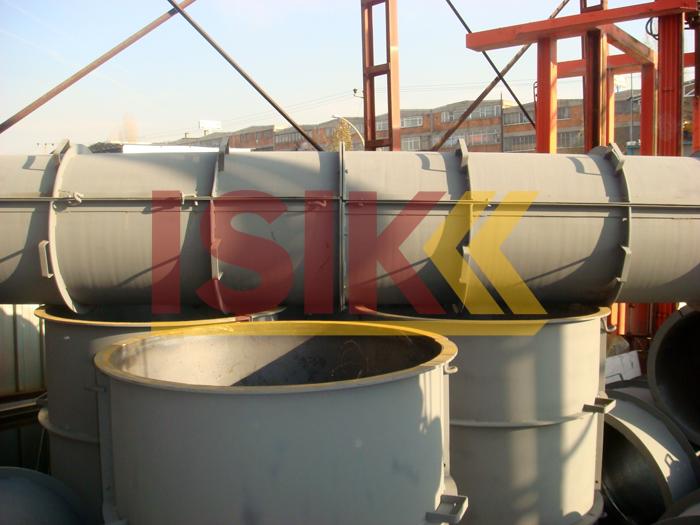 Daire Kesitli Modüler Çelik Yüzeyli Kolon Kalıbı